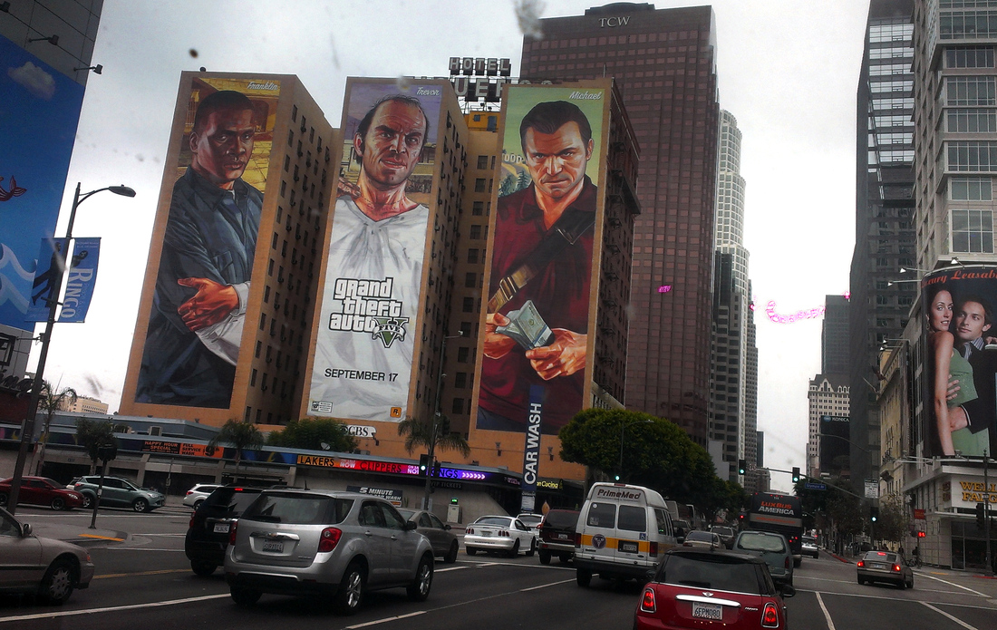 Is It Real Or Is It Gta V A Trippy Travelogue On The Streets Of Los Santos The Verge