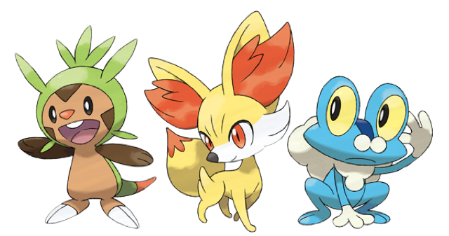Starter pokemon in emerald