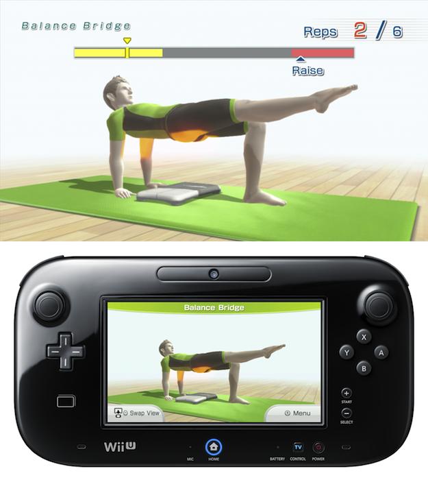 Balance Board Exercises Benefits: Wii Fit U Review: Glass Joe