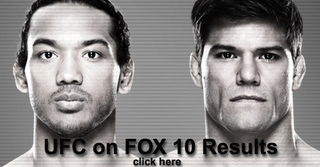 UFC on FOX 10 Results