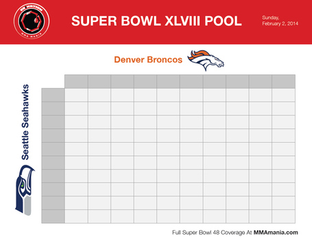 super bowl box template - super bowl squares sheet 2014 download printable broncos