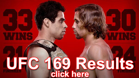UFC 169 Results