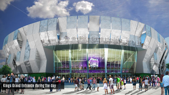 Kings Arena Drawings The Arena Will Also Have