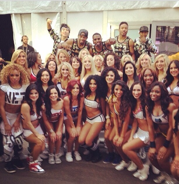 Nuggets Were Well Represented In New Orleans By Dance Team