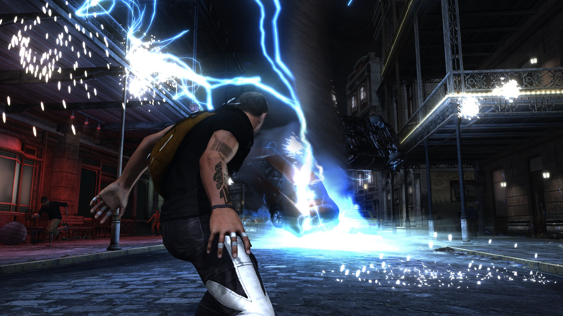 Infamous Second Son Review Drain You Polygon