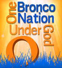 One Bronco Nation Under God