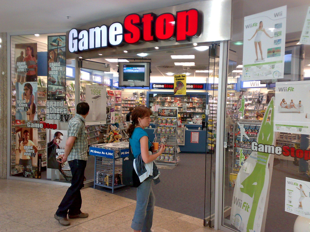 GameStop Store front (Creative Commons)
