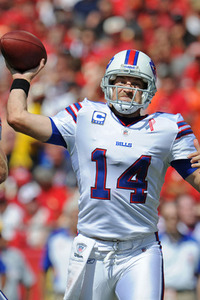 QB Ryan Fitzpatrick and the Bills sit atop the AFC East after Week 1.