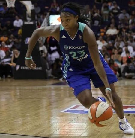 Last year, the fourth seed in the Eastern Conference knocked off the first seed. Can Cappie Pondexter and the New York Liberty pull off a similar feat this playoff season? Photo via SBN Arizona.