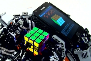 CubeStormer II Rubik's Cube robot