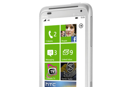 HTC Radar 4G press shot