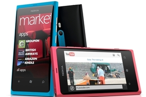 Nokia Lumia 800 group press shot