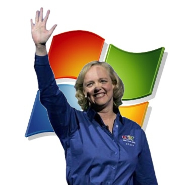 Meg Whitman Windows