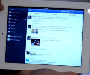 Facebook for iPad review