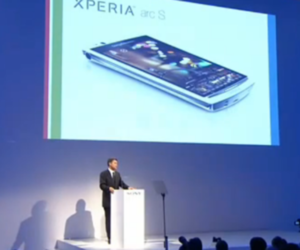 Sony Ericsson Xperia Arc S unveil at IFA 2011