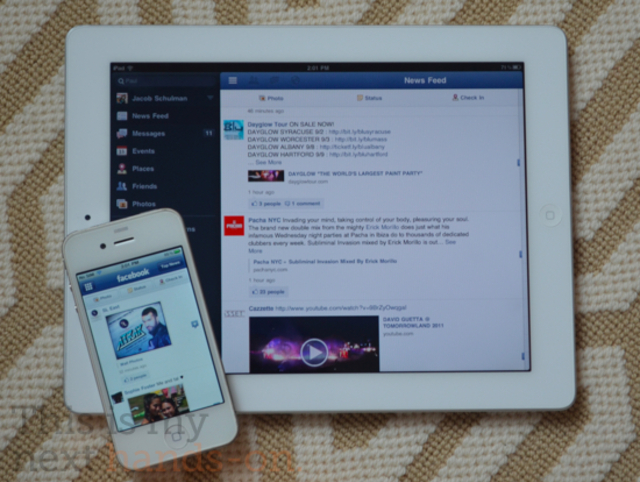 Facebook iPad unofficial