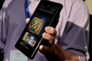Amazon Kindle Fire up close and tech specs