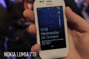 Nokia Lumia 710 demo