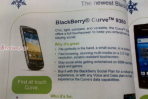 Blackberry Curve 9830 Leak
