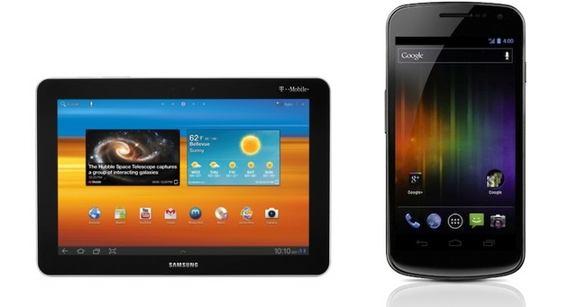 Galaxy Tab and Galaxy Nexus