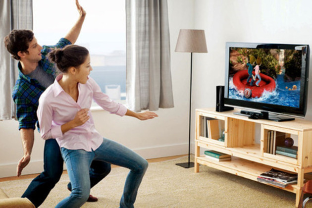 Kinect happy people