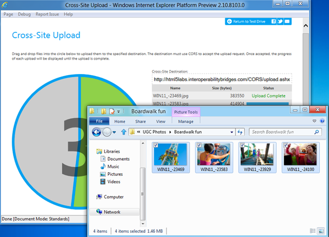 Internet Explorer 10 Preview 4