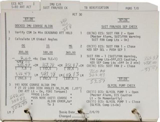 Apollo 13 booklet