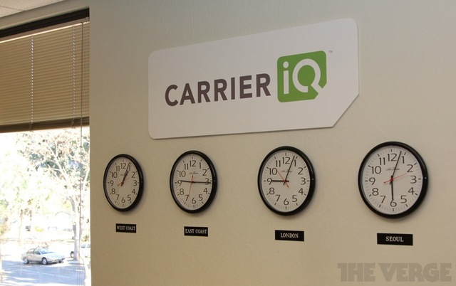 Carrier IQ Clocks 1000