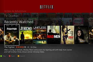 Netflix for Xbox Live 2011