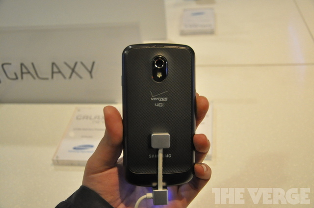 Galaxy Nexus LTE Verizon Wireless Hands-On