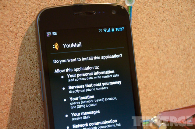 YouMail Permissions Android