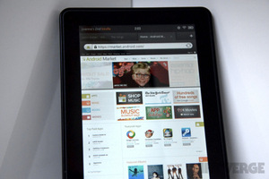 Android Market on Kindle Fire