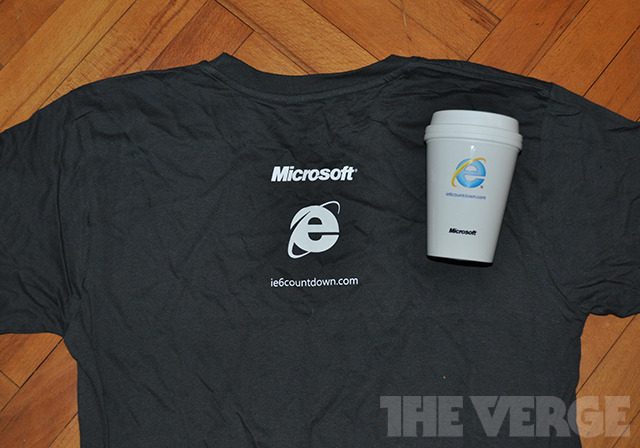 IE6 countdown tee