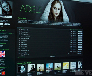 Adele iTunes store