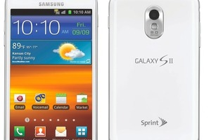 White Galaxy S II Epic 4G Touch