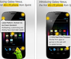 Sprint Galaxy Nexus ad w/1.5GHz note