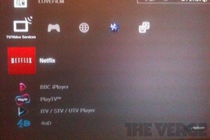 Netflix App on UK PlayStation 3
