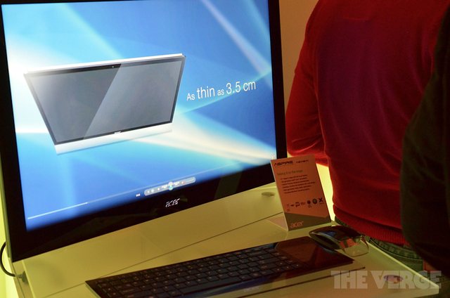 Gallery Photo: Acer Aspire Z7871 AIO hands-on pictures
