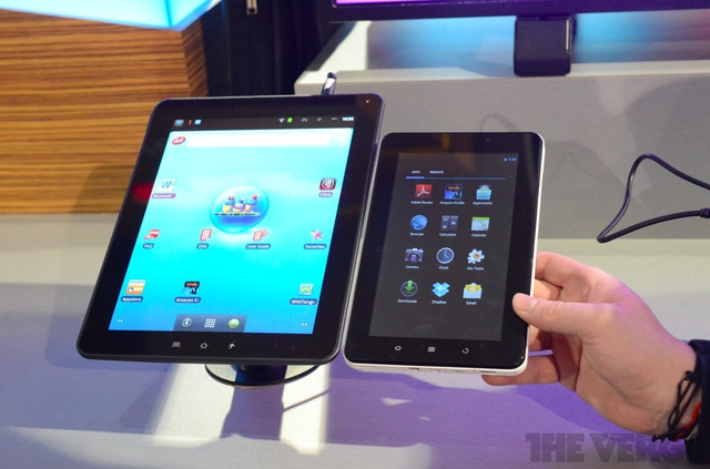 Gallery Photo: Viewsonic ViewPad 70e, 10e, 10pi hands-on pictures