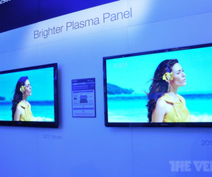 Gallery Photo: Panasonic 2012 Smart Viera plasma CES booth