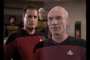 Star Trek TNG Blu-Ray Picard
