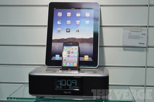 Gallery Photo: iHome iD99 dual-docking iPhone and iPad clock radio (hands-on photos)