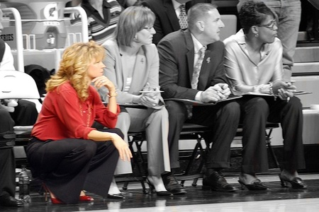 Sherri Coale's Sooners have struggled on the road this season and Tuesday's test doesn't get easier.
