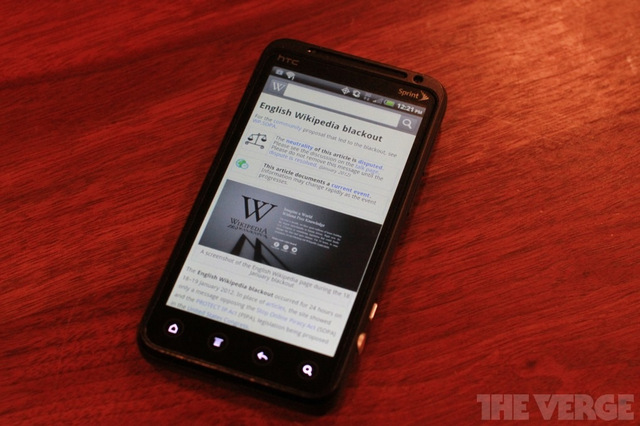 WIkipedia android