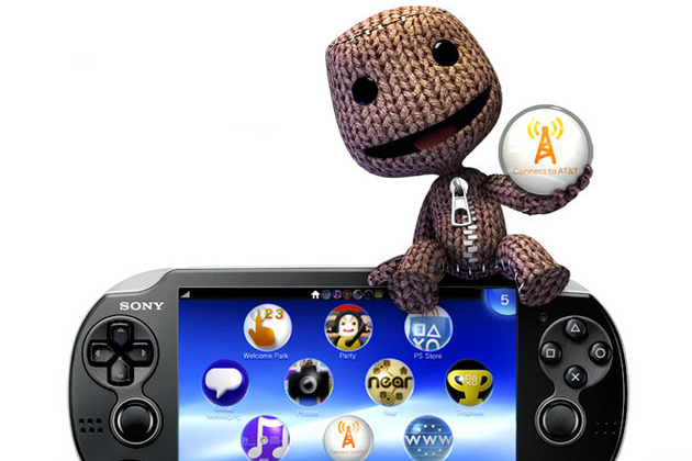 PlayStation Vita 3G AT&T sackboy