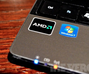 amd logo on laptop big