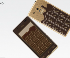 sharp chocolate phone