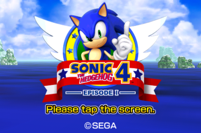 Sonic the Hedgehog 4 Episode I now available for Android, ICS users