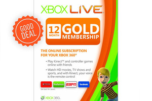 xbox live gold good deal