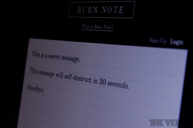 Burn Note lead